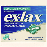 EX-LAX MAXIMUM STRENGTH