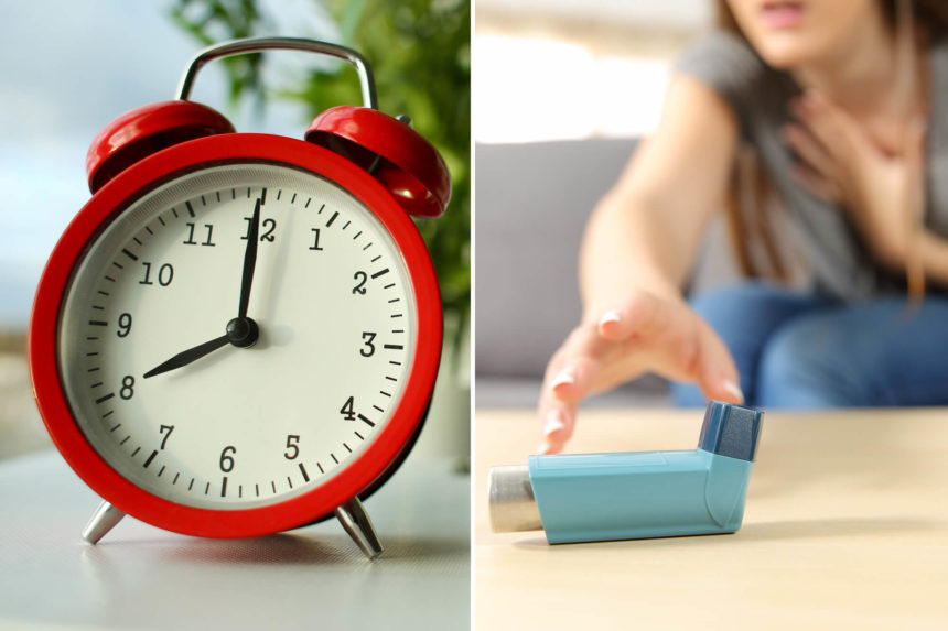 Asthma Attack Alarm Clock Custom