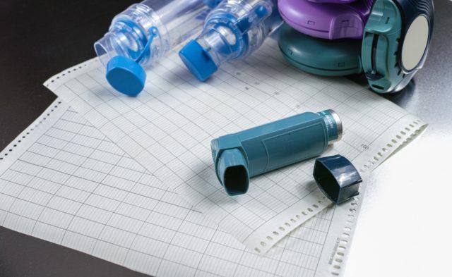 Asthma control, inhalers