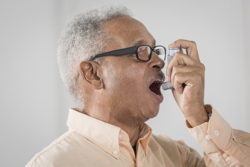 Triple therapy reduces rates of COPD exacerbations