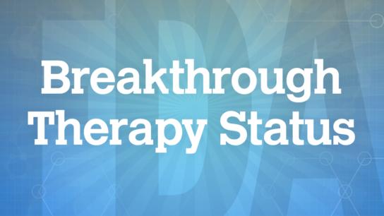 FDA Breakthrough Therapy Status logo