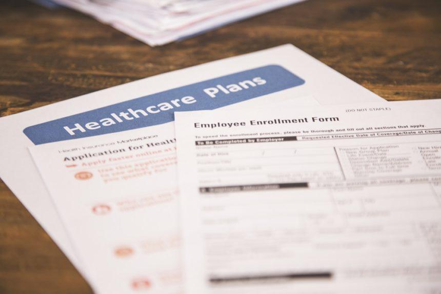 Health Insurance Registration Paperwork