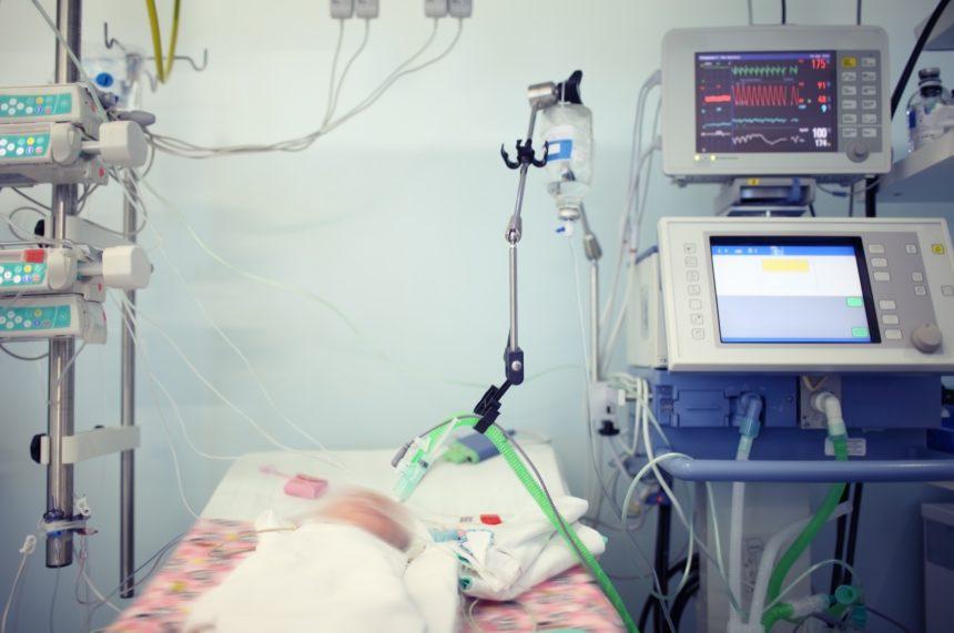 Newborn in ICU