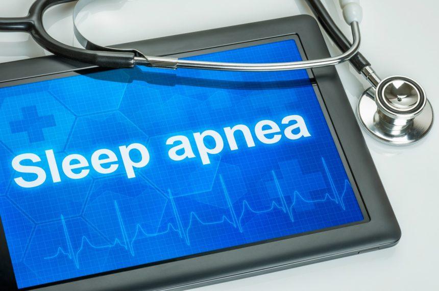 Obstructive Sleep Apnea, tablet, stethoscope