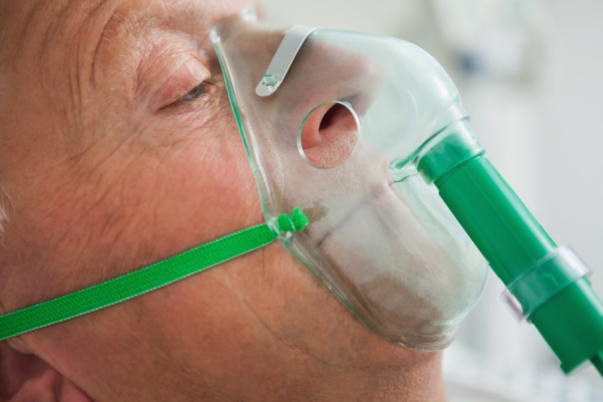 Long-term oxygen therapy not beneficial for COPD with moderate desaturation.