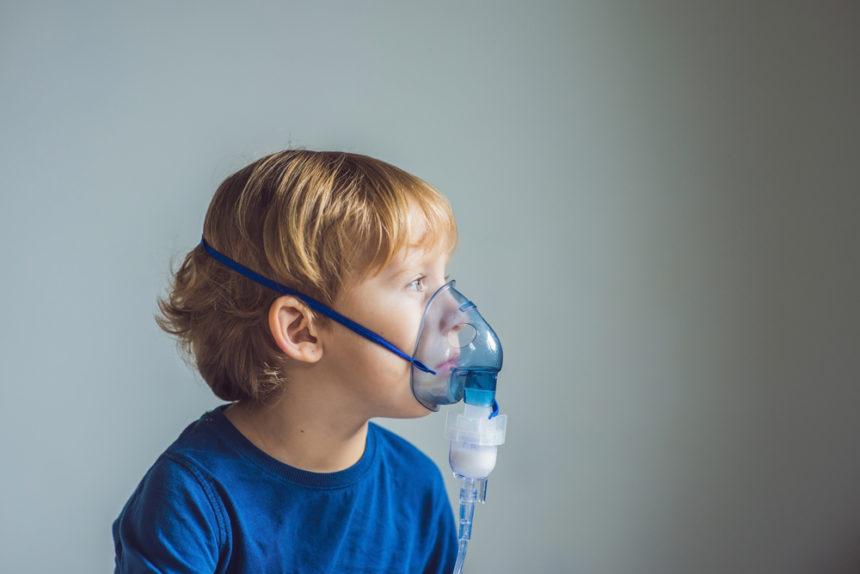 pediatric asthma with nebulizer