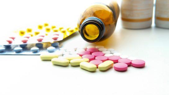 pills, bottle, antibiotics