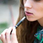 smoking vaping teenager