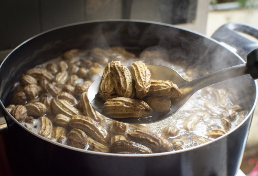 boiled peanuts allergy