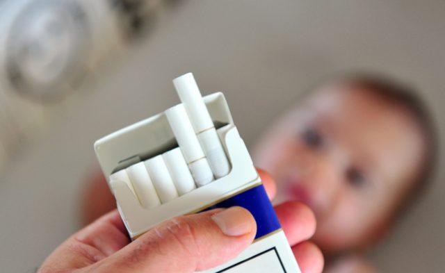 cigarettes smoking infant secondhand smoke