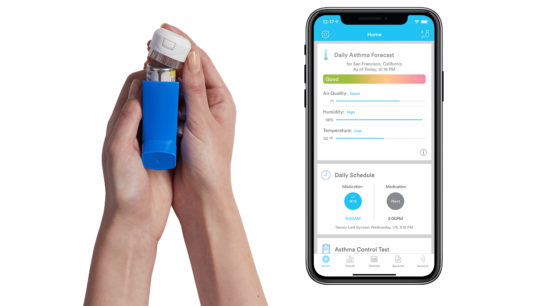 Propeller Health Asthma Tracker Inhaler Jellyfish