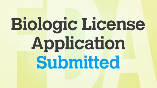 FDA-biologic-license-application-submitted