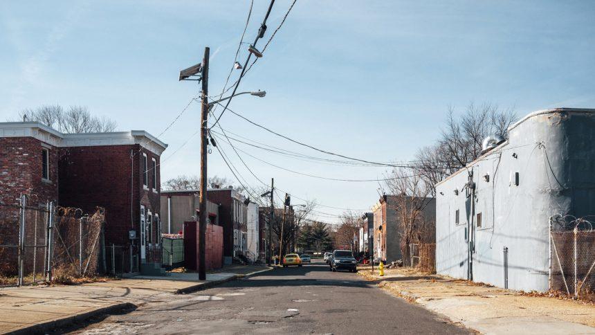 inner city neighborhood