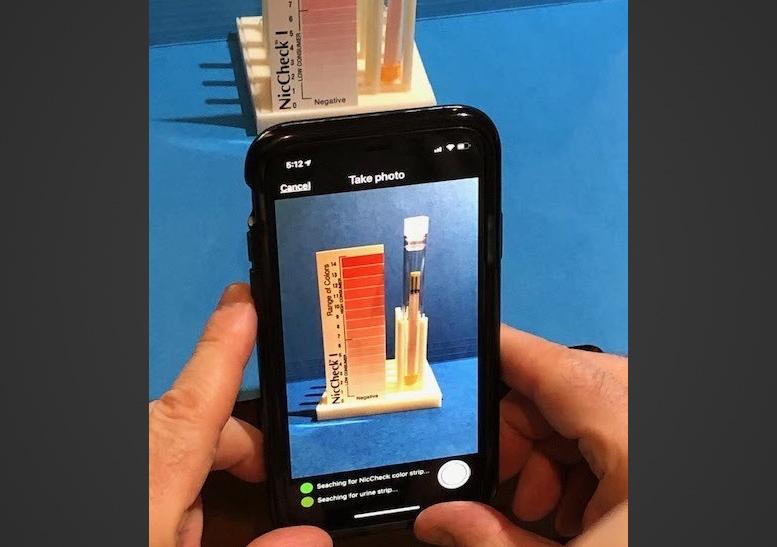IntelliQuit Mobile App NicCheck Bio Strip