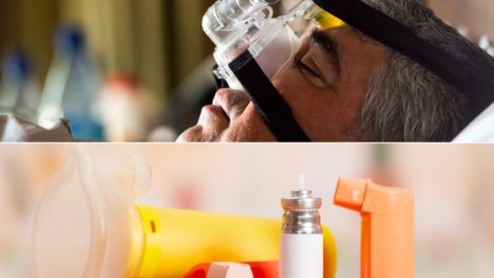 sleep apnea, asthma inhalers, OSA