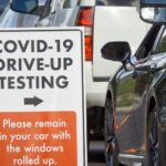 COVID-19 outdoor driving test