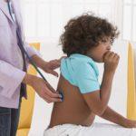 Pediatric exam, chest, cough, back tuberculosis